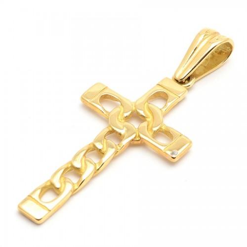 Cruz Oro Calada