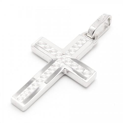 Cruz Oro Blanco Círculos